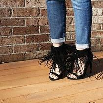 Jeffrey Campbell Bobbi Suede Heels Size 7 New in Box  Photo