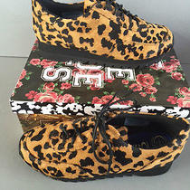 Jeffrey Campbell Bruce Pony Hair Sneaker Size 10 New in Box  Photo
