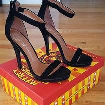 Jeffrey Campbell Burke Platform Heel Black Size 8 New in Box Photo