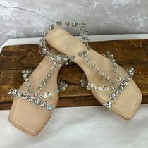 Jeffrey Campbell Calath-Jv Crystal Size 10 Strappy Sandal  Photo
