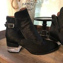 Jeffrey Campbell Calf Hair Booties Sz 8 Leto-F Photo