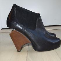Jeffrey Campbell 'Christie' Wedge Leather Size 9 Photo