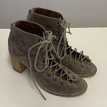 Jeffrey Campbell Cors Shoes Open Toe Lace Up Ankle Booties Sz-8 Photo