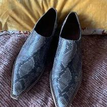 Jeffrey Campbell Cowboy Boot Snakeskin Boot  7.5 Photo