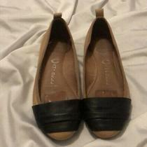 Jeffrey Campbell Cream Black Ballet Flat Size 6 Photo