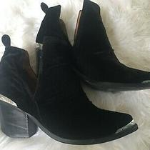 Jeffrey Campbell Cromwell Ankle Boots Nwot 9 Photo