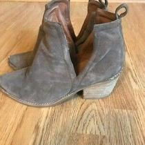 Jeffrey Campbell Cromwell Cutout Western Bootie Size 9 199.95 Msrp Photo