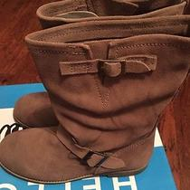 Jeffrey Campbell Dakota Boots in Taupe Size 10 M Photo