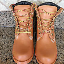 Jeffrey Campbell 'Deluge'  Military Style Workman Rain Boots Lace Up Size 6 Photo