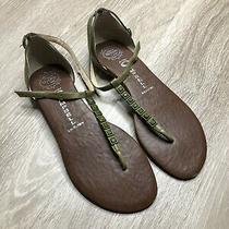 Jeffrey Campbell Diamond Green Thong Sandals Size 8 Photo