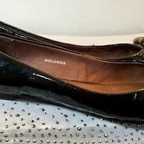 Jeffrey Campbell Dolores Black Leather Womens Slip on Comfy  Flats Us 7.5 Photo