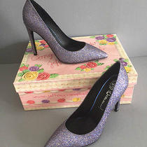 Jeffrey Campbell Dulce Pump - Glitter Size 7 New in Box  Photo