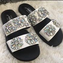 Jeffrey Campbell Embellished Sandals Photo