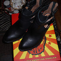 Jeffrey Campbell Everly Black 7.5m New With Box  Photo