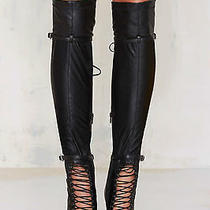 Jeffrey Campbell Evidence Over-the-Knee Boots Size 10 New in Box  Photo
