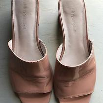 Jeffrey Campbell Farrow Patent Leather Mule Size 9 Nude/pink Photo