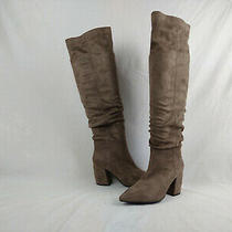 Jeffrey Campbell Final Slouch Brown Over the Knee High Boots Women's Size 6.5 Us Photo