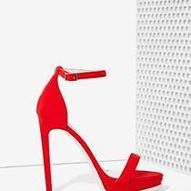 Jeffrey Campbell Finola Heel - Red Neoprene Size 8 New in Box  Photo