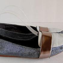 Jeffrey Campbell Flats Silver Shoe Size 7.5  Photo