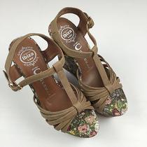 Jeffrey Campbell Floral Platform Sandals 6.5 Photo