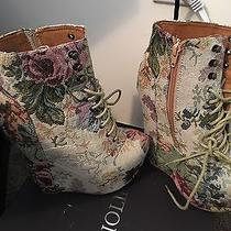 Jeffrey Campbell Floral Wedge Photo
