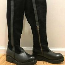 Jeffrey Campbell for Free People Black Boot Over the Knee Sz 8 Worn Once Photo
