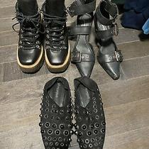 Jeffrey Campbell for Free People Lot of 3 Heels Boots and Slides Size 6 Photo
