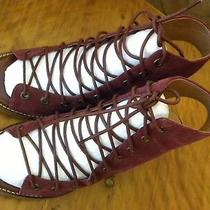 Jeffrey Campbell for Free People  Sandal Size 6-1/2 Wine 3