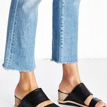 Jeffrey Campbell for Urban Outfitters Black Slide Wedge Sandals Size 8 Photo