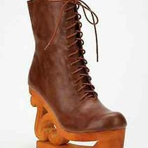 Jeffrey Campbell Free People Sonia Skate Boots Size 8 Photo