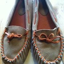 Jeffrey Campbell Frontier Sz 7 M Soft Leather  Ballet Flats Moccasins Photo
