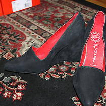Jeffrey Campbell Garo Suede Wedges Size 10 Photo