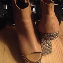 Jeffrey Campbell Gravity Wedge Rare Photo