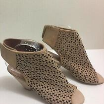 Jeffrey Campbell Great Moments Premier Cutout Sandals Beige Womens Size 8.5 Photo