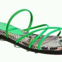 Jeffrey Campbell Green Spiral Sandals Size 7m Photo