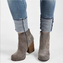 Jeffrey Campbell  Hanger Suede Ankle Bootie 8.5 Photo
