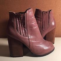 Jeffrey Campbell Havana Booties - Tan Leather Size 8.5 Photo