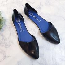 Jeffrey Campbell Havana Last Black Point Jelly Rubber Flats Shoes Women's 9 New Photo