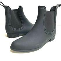Jeffrey Campbell Havana Last Womens 7 Black Chelsea Ankle Rubber Rain Boots Photo