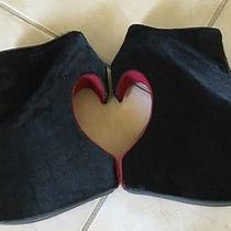 Jeffrey Campbell Heart Shaped Heels Fur 7.5 Photo