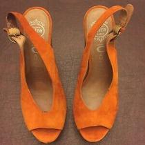 Jeffrey Campbell Heels Shoes Size 7 Tan Suede Handmade Ibiza Last Photo