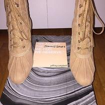 Jeffrey Campbell Hiver Womens Brown Suede Lace Up Boot 7.5m Original Price 245 Photo