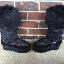 Jeffrey Campbell Hoth Quilted Boots Size 6 New Without Box  Photo