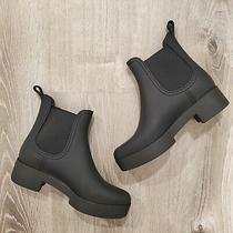 Jeffrey Campbell Hydra Platform Waterproof Chelsea Rain Boot Women's Size 9 Us Photo