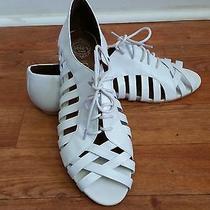 Jeffrey Campbell Ibiza White Gladiator Strappy Lace Up Sandal Shoe Womens Men 11 Photo