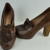 Jeffrey Campbell Ibiza Womens Penny Lane Loafer Shoe Size 7.5 Wedge Heeled  Photo