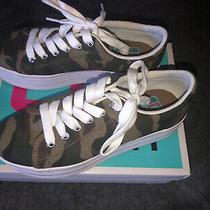 Jeffrey Campbell Jc Play Camo Zomg Platform Sneakers Womens Size 8 Photo