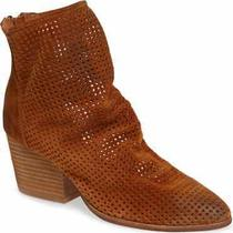 Jeffrey Campbell - Jenelle Booties -  Perforate Oiled Suede - Size 6.5  Photo