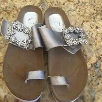 Jeffrey Campbell Jewel Slide Sandals Size 7m New Photo