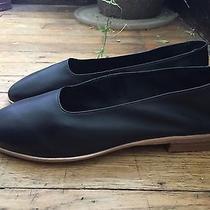 Jeffrey Campbell Jordan Black Leather Glove Shoes Flats Martiniano 9.5 145 Photo